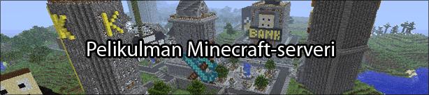 Pelikulman Minecraft-serveri